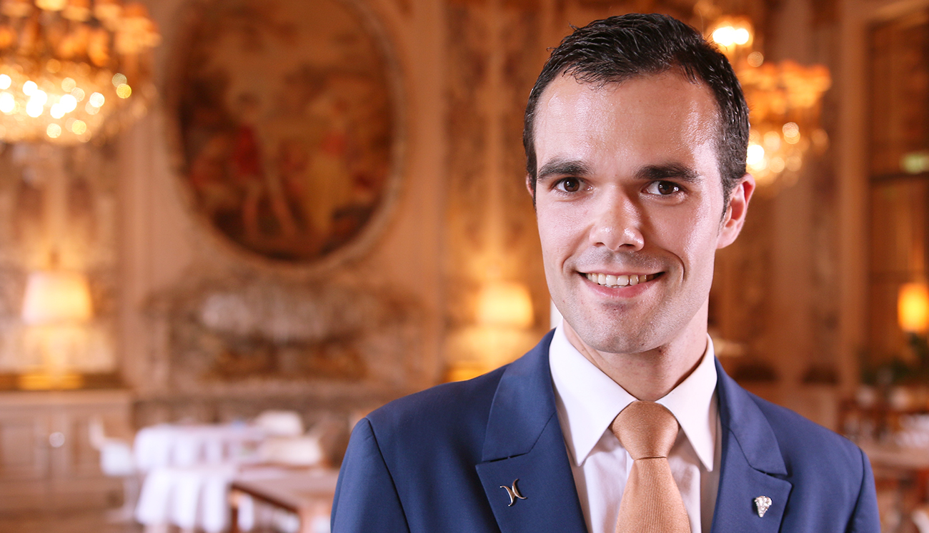 A Great Vintage: The Head Sommelier of Le Meurice Pours some Knowledge